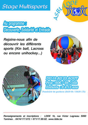 Stages,cours Stage Multisports