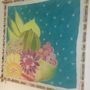 Workshops Zijdeschilderen (workshop)