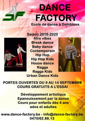 Stages,cours Cours Afro Vibes (afro house) niveau ados / adultes