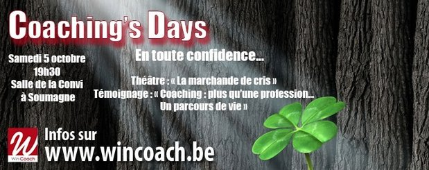 Stages,cours Coaching s Days : Entre professionnels coaching