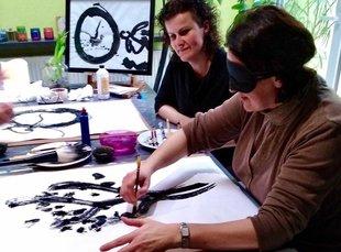 Workshops Verbinden jezelf, Sumi-e