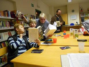 Conférences Je livres ! club lecture la biblio