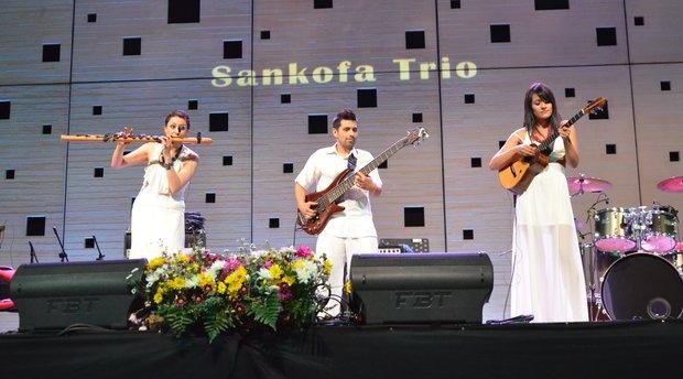 Concerten Folkeando trio (Argentina) & Sankofa trio (Colombia)