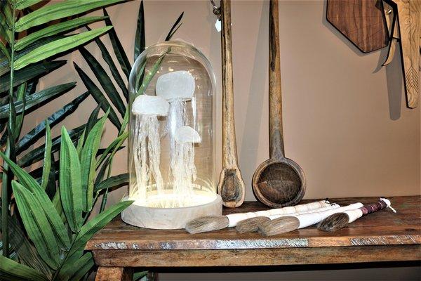 Stages,cours Atelier DÉCO réalisation d un globe à méduses