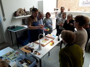 Workshops Cursus Aquarelschilderen  BASIC