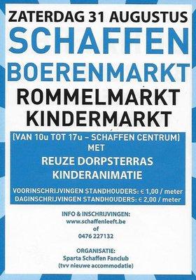 Marché paysan / marché puces Schaffen