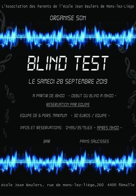 Soirées Soirée Blind test