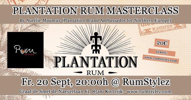 Workshops Plantation Rum: Tasting Masterclas Aurélie Maumus, Brand Ambassador