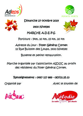 Loisirs Marche adeps