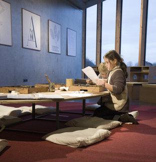 Expositions Abc organise  Studio Brancusi', atelier pour jeunes moins jeunes