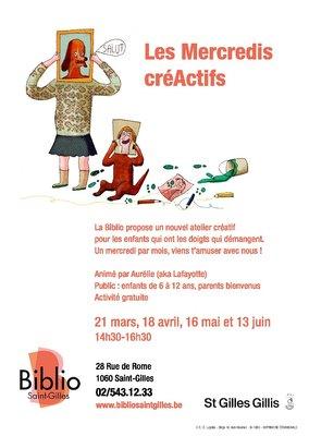 Stages,cours Mercredis CréActifs