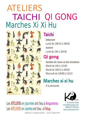 Stages,cours Ateliers Qi gong - gestion stress des émotions