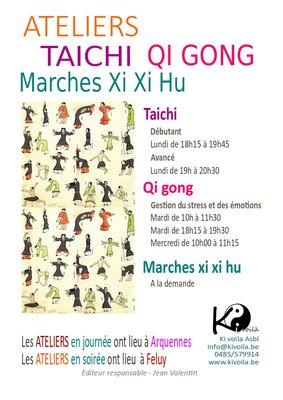 Stages,cours Ateliers Taichi chuan de gong - Débutant