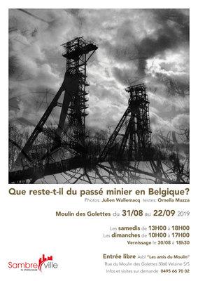 Tentoonstellingen Que reste-t-il passé minier Belgique?