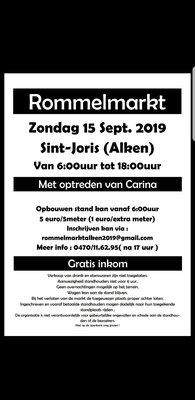 Rommelmarkt Sint Joris ( Alken )