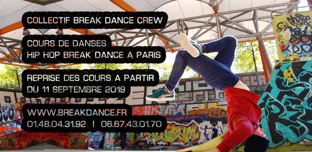 Stages,cours Cours danse hop break dance . Programme -2020