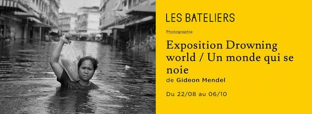 Expositions Exposition photographique  Drowning World/Un monde se noie  Gideon Mendel