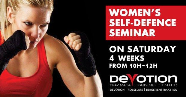 Workshops Women s Self Defense Seminar / Zelfverdediging voor vrouwen