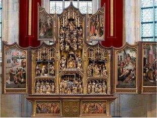 Tentoonstellingen Vlaamse Meesters situ - Laatmiddeleeuwse sculpturen.