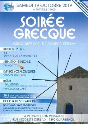 Soirées Soirée Grecque