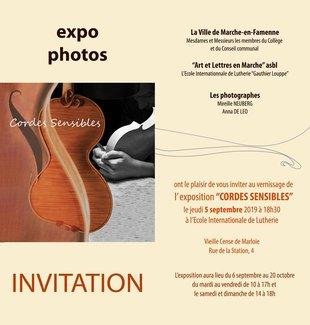 Expositions Cordes Sensibles - Anna Leo Mireille Neuberg - Exposition photos