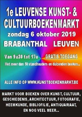 Ontspanning 1ste Leuvense Kunst- & Cultuurboekenmarkt