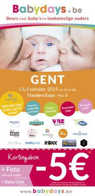 Ontspanning Babydays Gent