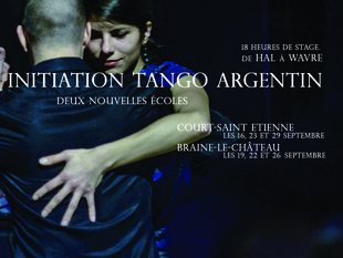 Stages,cours Initiation tango avec CaLens