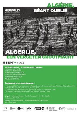 """Tentoonstellingen Tentoonstelling: """"Algerije, vergeten grootmacht ."""