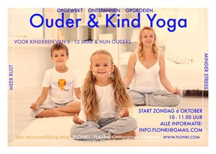 Workshops Yoga voor Ouder Kind: Tijd Voor Elkaar