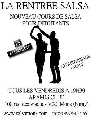 Stages,cours Cours Salsa pour Débutants