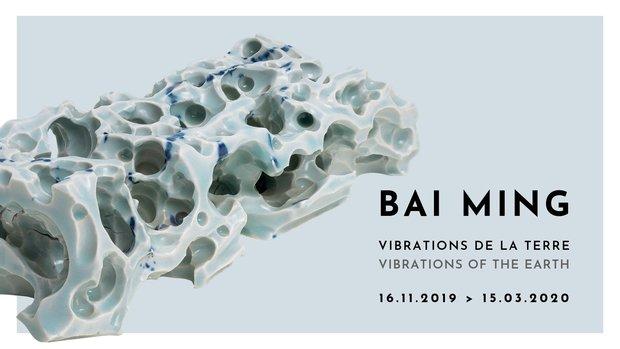 Expositions Bai Ming. Vibrations la Terre