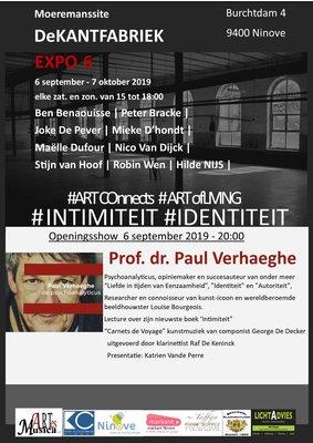 Tentoonstellingen #Intimiteit #Identiteit, expo actuele kunst DeKANTFABRIEK Ninove