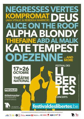 Voorstellingen Festival de Vrijheid
