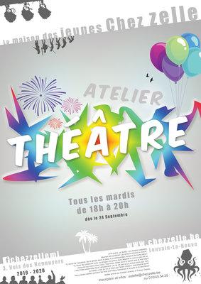 Stages,cours Atelier Théâtre