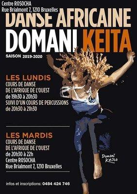 Stages,cours Cours danse africaine (Guinée): Domani Keïta avec percussions live
