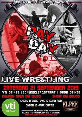 Voorstellingen Live wrestling/Catch