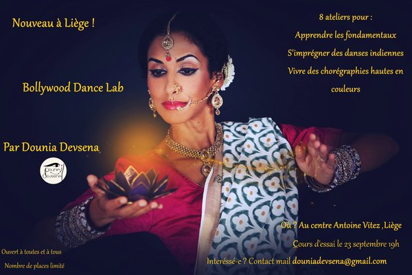Stages,cours Bollywood Dance Lab