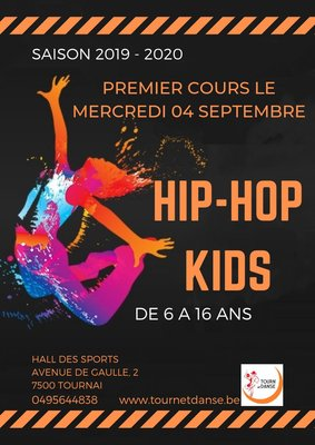 Stages,cours Cours Hip Kids