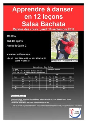 Stages,cours Cours Salsa Bachata