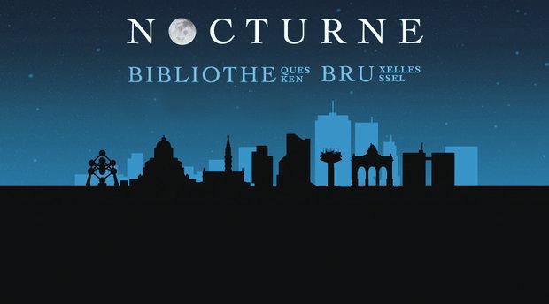 Stages,cours Nocturne bibliothèques: Berchem Night