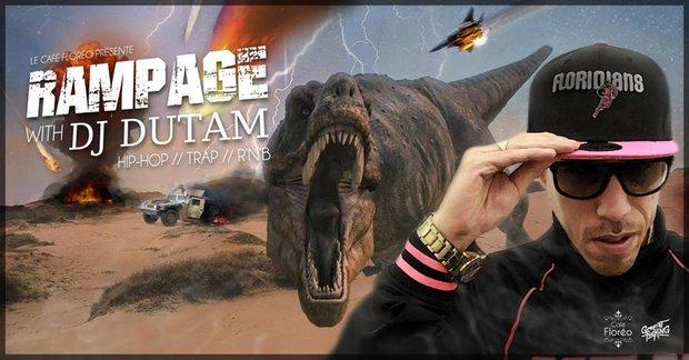 Soirées Rampage : hop, Trap Rnb night with Dutam
