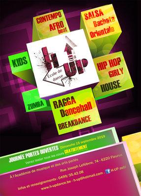 Stages,cours H-UP - École danse