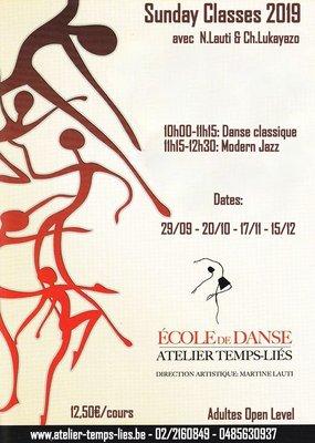 Stages,cours Un dimanche danse