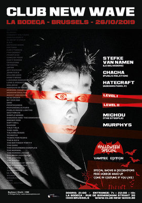 Nachtleven Club Wave party - Halloween Special: Vampire Edition
