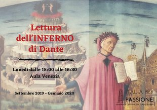 Stages,cours Lettura  Inferno  Dante