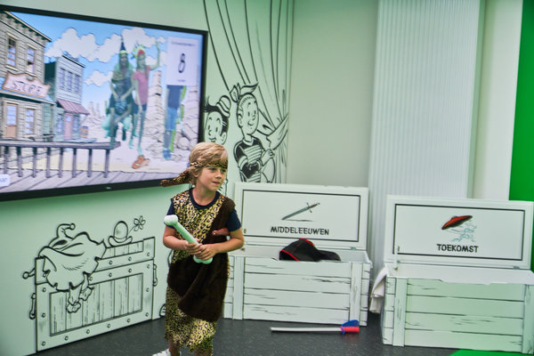 Ontspanning Striptoer het Suske Wiske Museum