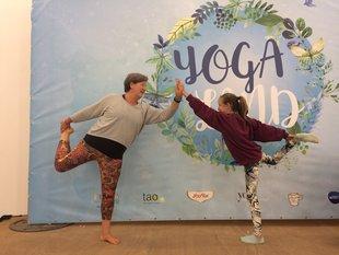 Stages,cours Yoga pour enfants parents