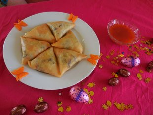 Stages,cours Samosa vietnamien