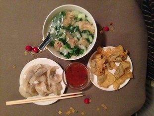 Stages,cours Dimsum, soupe wonton, raviolis chinoise